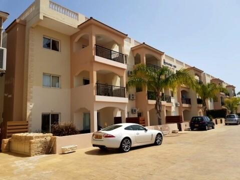 Замечательный двухкомнатный апартамент недалеко от моря в Пафосе - Фото 1