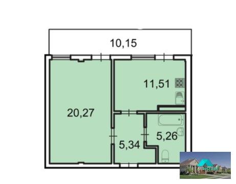 Продается 1 комнатные апартаменты в новом комплексе - Фото 1