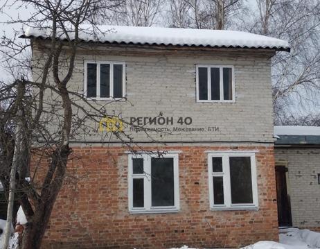 Двухэтажный кирпичный зимний дом в Балабаново - Фото 3