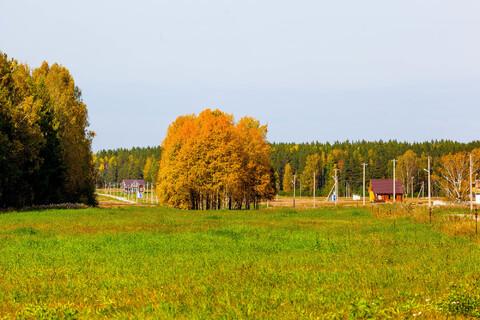 Продается ровный солнечный земельный участок 8,8 соток в кп Брусника - Фото 1