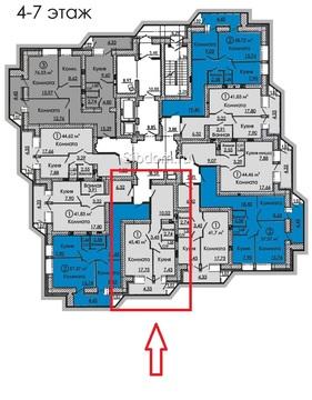 Сдам 1-комн ул.Солнечная д.43, площадью 40 кв.м, на 5 этаже