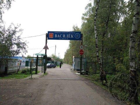 Участок в СНТ Василек 5,5 соток в черте г. Климовска. - Фото 1