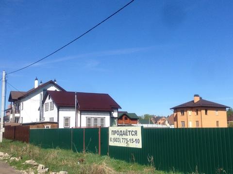 Продам участок 12,4 соток Щелковский район, д. Новая Слобода - Фото 1