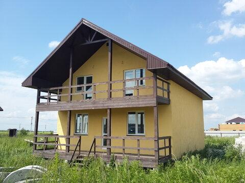 Продается новый блочный дом 174м2 на участке 10,4сот, село Малышево - Фото 1