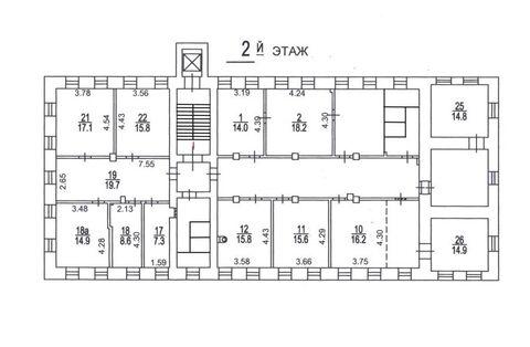 Аренда целого этажа 320 кв.м. м. Октябрьская - Фото 2
