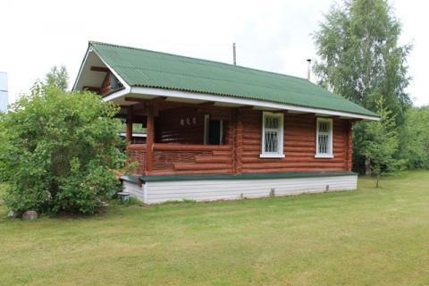Финский дом, 20 соток в д. Шатрищи в 100 м. от реки Волга - Фото 1