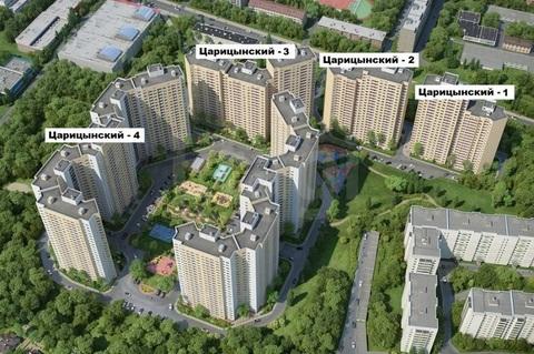 2 комнатная квартира в ЖК Царицынский 4 - Фото 1
