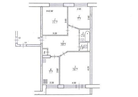 Продам трехкомнатную квартиру в с. Горицы Кимрского района недорого - Фото 2
