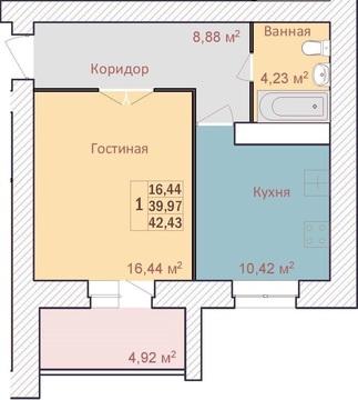 Продается новостройка в кирпичном доме на ул.Строителей - Фото 5