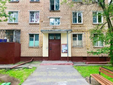 Трехкомнатная Квартира Москва, улица 2-я Прогонная, д.11, . - Фото 5