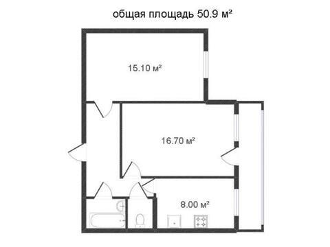 Продажа двухкомнатной квартиры на улице Грабцевское шоссе, 152 в ., Купить квартиру в Калуге по недорогой цене, ID объекта - 319812777 - Фото 1