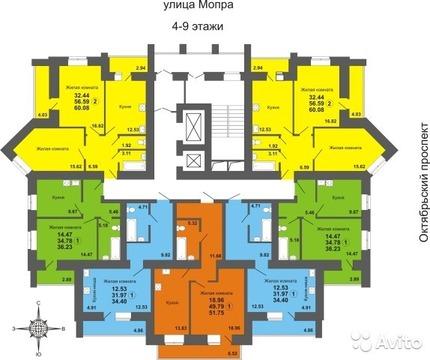 Продаю 2-х комн квартиру на октябрьском пр. 105а - Фото 3