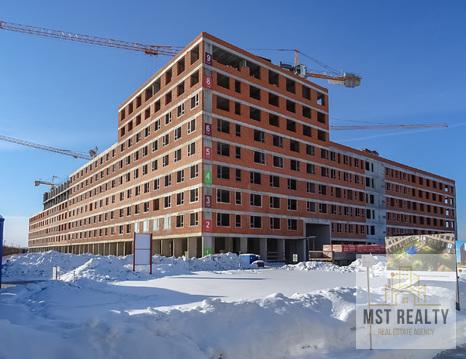Однокомнатная квартира в новом жилом комплексе города Видное - Фото 1