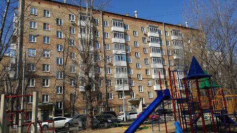 9 500 000 Руб., Уютная 2-х комнатная квартира в кирпичном доме, Купить квартиру в Москве, ID объекта - 333824288 - Фото 1