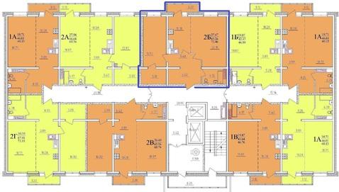Продаётся готовая 2-комнатная квартира в ЖК Море Солнца - Фото 3