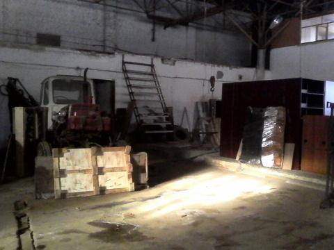 Производственное помещение 460 кв.м. Отопление, вода, охрана, кран-балка - Фото 5