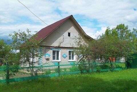 Дом с газовым отоплением, баней и скважиной в пос. Петровский - Фото 1