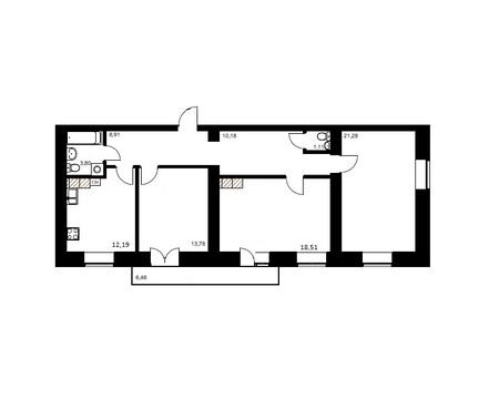 Большая 3-х комнатная квартира в новом доме на Благоева 21 - Фото 2