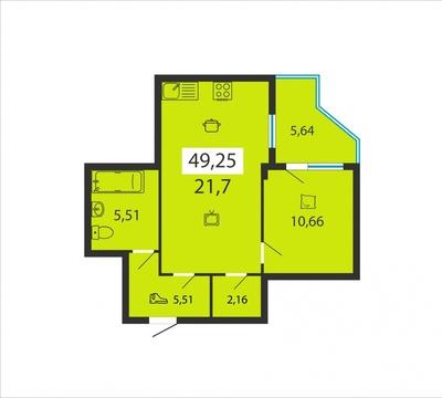 Продажа квартиры, Липецк, Ул. Игнатьева Ф.С. - Фото 1