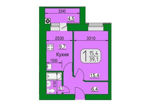 Продажа квартиры, Рязань, дп, Купить квартиру в Рязани по недорогой цене, ID объекта - 317109614 - Фото 1