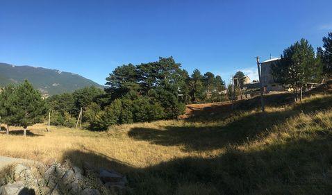 Участок 4.1 сот. в Ялте с видом на горы, на границе с заповедником - Фото 4