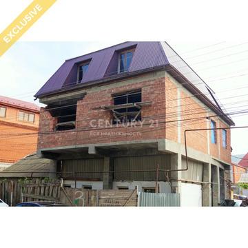 Продажа частного дома (незавершённое ст-во) в р-не ул.Дахадаева, 200м2 - Фото 3