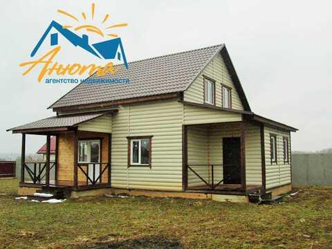 Новый дом в близи озера с газом в Совхозе Победа Жуковского района - Фото 2