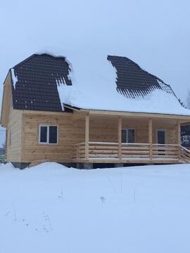 Дом из бруса 200 м2 с Газом, 25 соток, Прописка - Фото 3