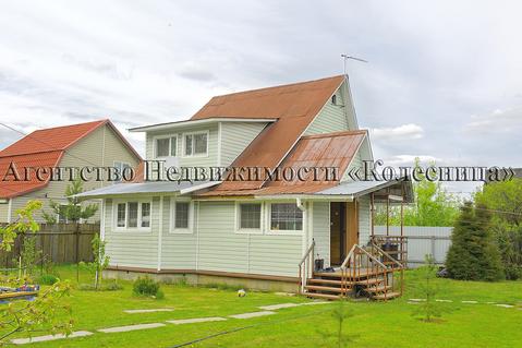 Борисково. Жилой зимний дом 150 кв.м, с двухэтажным гаражом, 15 соток - Фото 1