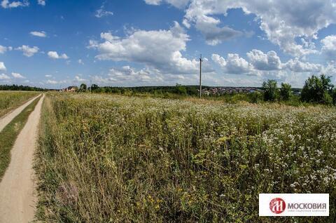 Земельный участок 12 соток, ПМЖ, в Новой Москве, д.Шаганино - Фото 1