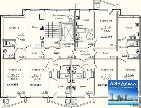 2 комнатная квартира, Уфимцева, 3а - Фото 5