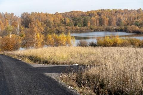 Участок у природного озера - Фото 4