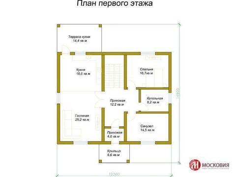 Дом 237,5 кв.м, Н.Москва - Фото 2