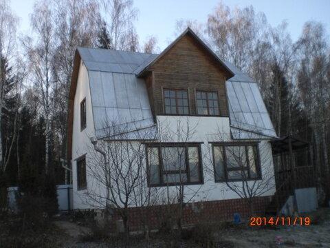СНТ новая Москва, блочный дом, 30км, 6,5 сот, крайний к лесу, Варшавск - Фото 1
