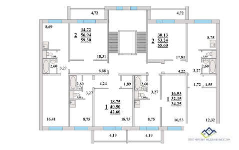 Продам 2-тную квартиру Прокатная 17 , эт9, 55 кв.м. Цена 2059 т.р - Фото 3
