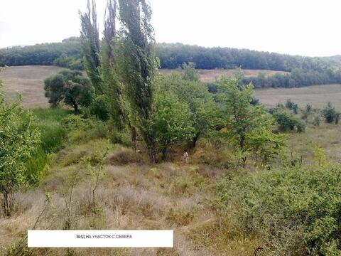 Продается земельный участок с озером ЛПХ 1га село Аромат, Горный Крым - Фото 3