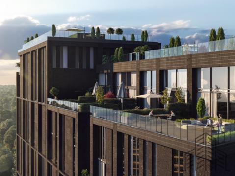 2 комнатная квартира евроопейской планировки с панорамным остеклением - Фото 3