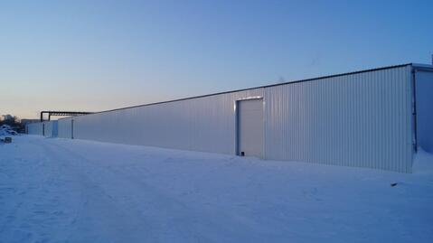 Отапливаемый склад 370 кв.м. - Фото 1
