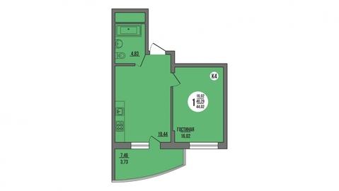 Продажа квартиры, Пенза, Ул. Антонова, Купить квартиру в Пензе по недорогой цене, ID объекта - 325994180 - Фото 1