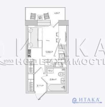 Продажа квартиры, Бугры, Всеволожский район, Тихая ул - Фото 1