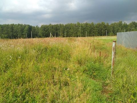 Продается земельный участок 10 соток. Чеховский район, д.Булычево - Фото 5