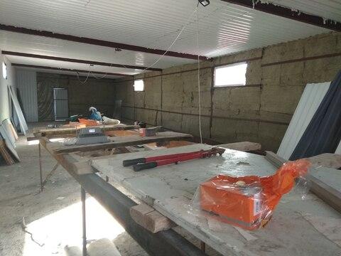 Производственное помещение 120 кв.м, отдельная огороженная территория - Фото 1