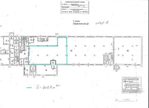 Аренда - помещение под теплый склад 317 м2 м. Водный стадион - Фото 3