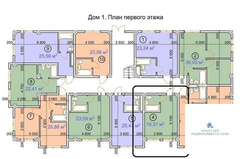 Краснодарский край, Сочи, ул. Я.Фабрициуса,66 9