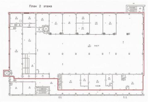Сдам складское помещение 1850 кв.м, м. Ломоносовская - Фото 5