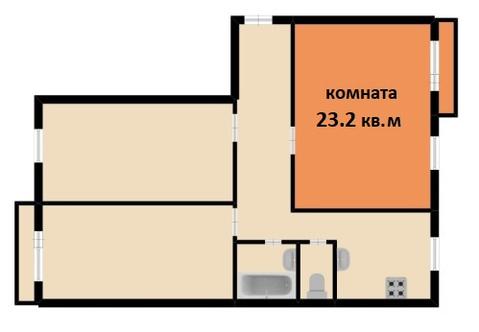 Продажа комнаты, м. Ломоносовская, Ул. Полярников - Фото 3