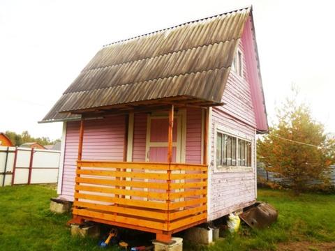 Каркасно-щитовая дача 45 кв.м. Летняя кухня. Земельный участок 6 соток - Фото 1