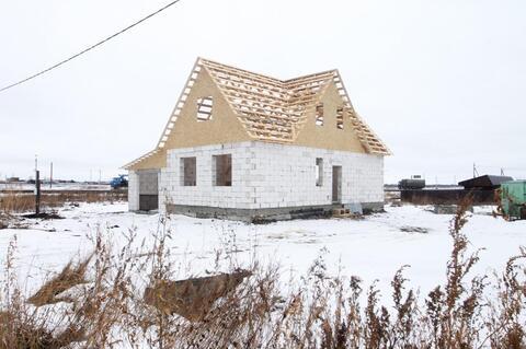 Продам недостроенный дом 72 м2 на 10 сотках - Фото 1