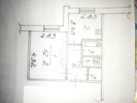 Продам 1 комнатную крастэц