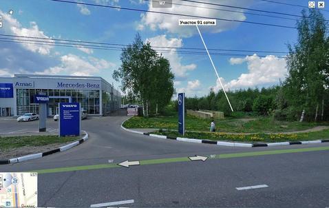 Участок 0,91 Га в Иваново на первой линии - Фото 1